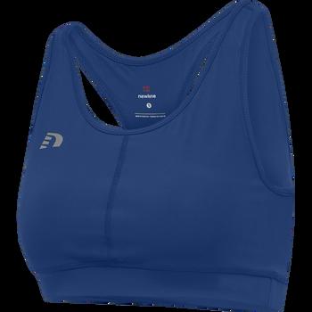 WOMEN CORE ATHLETIC TOP, TRUE BLUE, packshot