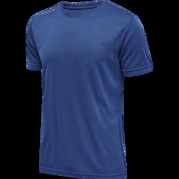 MEN CORE FUNCTIONAL T-SHIRT S/S, TRUE BLUE, packshot