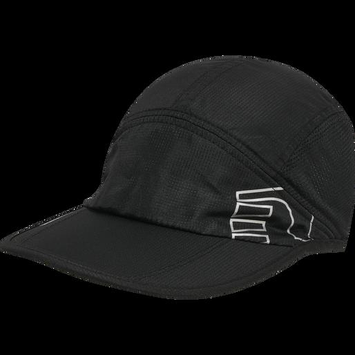 RUNNING CAP, BLACK, packshot
